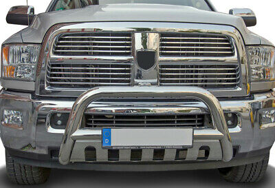 Bull bar 75mm Dodge Ram 2500 3500 (2010-) Frontbumper Bumper skid plate