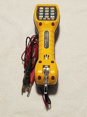 Fluke Networks TS30 Butt Set Lineman's Electrical Handset Tool USED