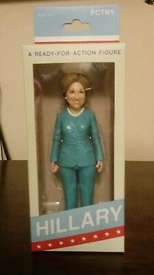 hillary clinton doll from 2016 presidential election Mint Condition!!! NBO