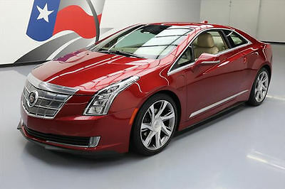 2014 Cadillac ELR Base Coupe 2-Door 2014 CADILLAC ELR HYBRID HTD SEATS NAV REARCAM 20'S 45K #601000 Texas Direct