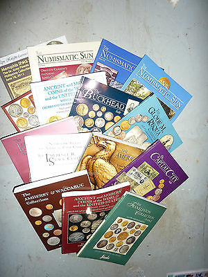 12 Coin Auction Catalogs Stack's Lyn Knight
