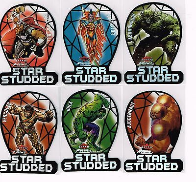 Marvel Fleer Retro,studded Set (12)