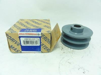 """138722 New In Box, Masterdrive 2BK36-7/8 Pulley 2 Groove 7/8"""" ID, 3.75""""OD"""