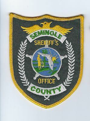 Seminole County FL Florida Sheriff's Office patch - Nice!