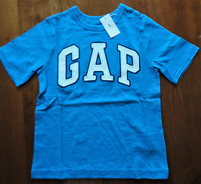 New Gap Kids Boy's GAP Logo Shirt Short Sleeve Size 4