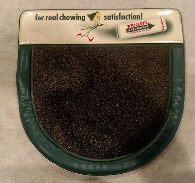 *** Original WRIGLEYS Chewing Gum COUNTER PAD / Change SIGN ***