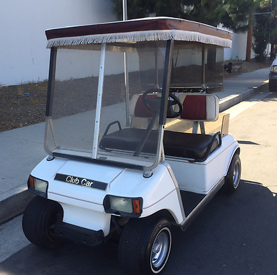Club Car Electric Golf Cart 36V with Very Good Batteries + Charger NO RESERVE