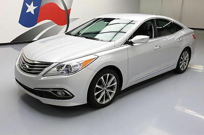 2016 Hyundai Azera Base Sedan 4-Door 2016 HYUNDAI AZERA CLIMATE LEATHER NAV REAR CAM 21K MI #510237 Texas Direct Auto