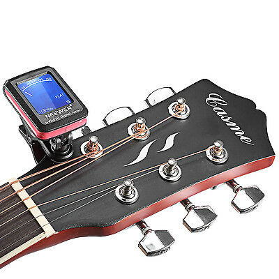 Neewer Chromatic Clip-on Tuner for Guitar, Chromatic, Bass, Violin, Ukulele