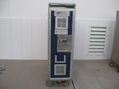 1 Sichuan Airline Full Size  Galley Service Cart Trolley Bar And Beverage
