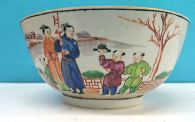 Antique Chinese Porcelain Bowl Hand Painted Export 1700 S Bowl