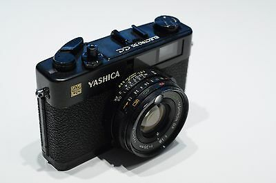 Yashica Electro 35 CC 35mm film camera TESTED WORKING