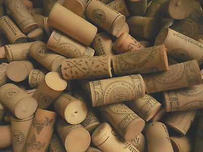 200+ Used Wine Corks Synthetics Plastic for Craft Repurpose Mixed LOT
