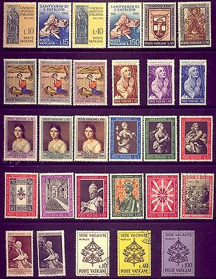 VATICAN: AN  ATTRACTIVE  LOT of STAMPS: MOST in   MINT CONDITION   LOW   RESERVE
