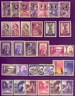 VATICAN: BEAUTIFUL  LOT of STAMPS: MOST in   MINT CONDITION   LOW   RESERVE