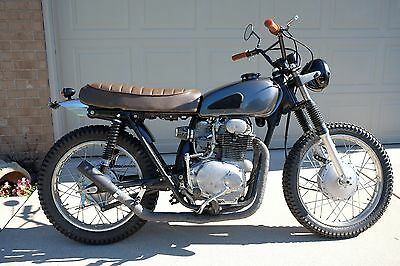 1972 Custom Built Motorcycles Other  1972 HONDA CL350 Custom MOTORCYCLE never finished CLEAN TITLE CB350 Vintage Cafe