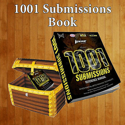 1001 submisssions book reference manual mixed martial arts collectable