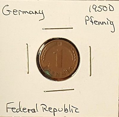Germany Pfennig - Group of 4 Coins