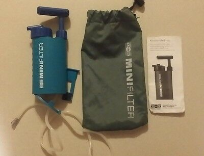 Katadyn mini ceramic water filter with pouch