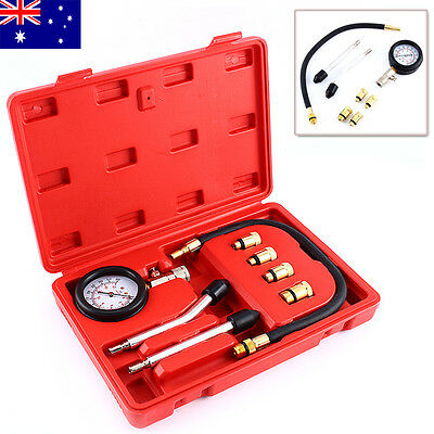 Diesel Engine Compression Tester Automotive Cylinder Pressure Meter Testing Kit
