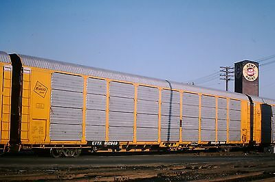 ETTX Trailer Train 802948 Milwaukee Road Detroit 3/76 Original Kodachrome Slide
