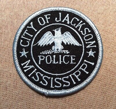 MS City of Jackson Mississippi Police Patch