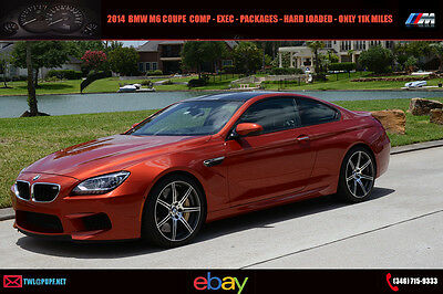 2014 BMW M6 Competition Pkg 2014 BMW M6 Coupe Every Option Only 11k Miles As Nice As It Gets