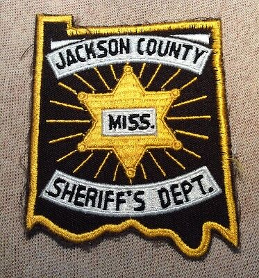 MS Jackson County Mississippi Sheriff Patch