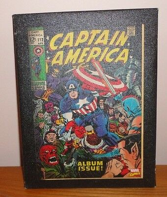 """Brand New Marvel Captain America Canvas Wall Art Comic Cover 6.5"""" x 8.5"""""""