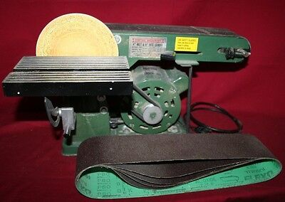 Central Machinery 4 in. x 36 in. Adjustable Belt / 6 in. Disc Sander Combination