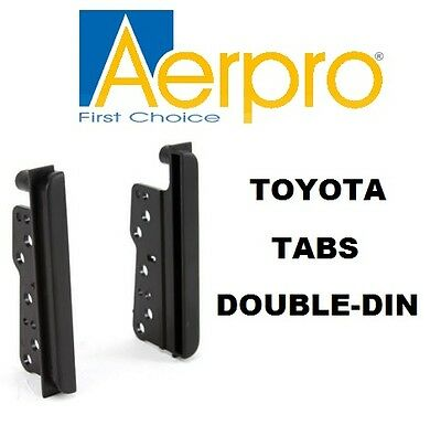 Toyota Double-Din Side Trims Facia Car Stereo Hilux, Landrcuiser, Camry, Corolla