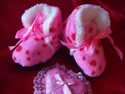 Newborn Toddler Baby Soft Sole Slippers Booties Crib Shoes Soft Comfortable