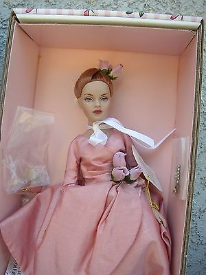 Tonner Tiny Kitty Collier Doll~TOUCH OF CLASS~Beautiful Red Hair,Pink Dress~NIB