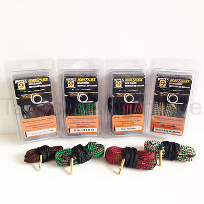 Hoppes Rifle Boresnake All Calibers Barrel Cleaning Rope Bore Snake Hoppe's