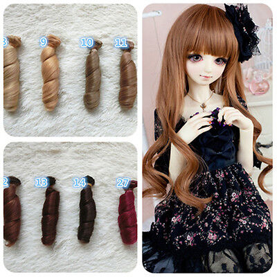 15x100cm DIY Doll Wig High-temperature Wire Hair for 1/3 1/4 1/6 BJD SD Barbie