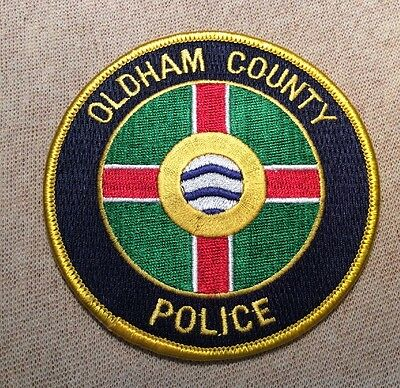 KY Oldham County Kentucky Police Patch