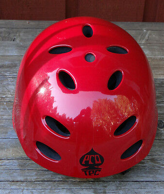 ACE - WAKE  Red Watersport Helmet / New - Size: S/M