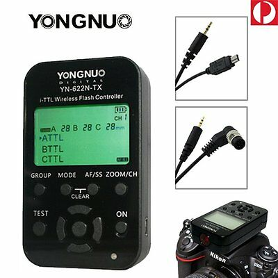 Yongnuo YN-622N-TX LCD I-TTL Wireless Flash Transmitter Controller for Nikon AU