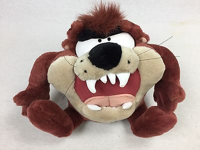 Tazmanian Devil Plush Looney Tunes Taz Snarl & Spin Talking Bouncing Spinning