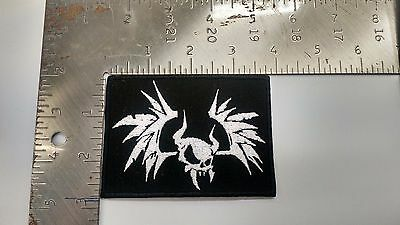 Metallica Embroidered patch NEW bat skull