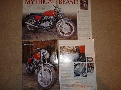 Italjet Grifon 650cc 1971 technical &historical literature-now 2 items