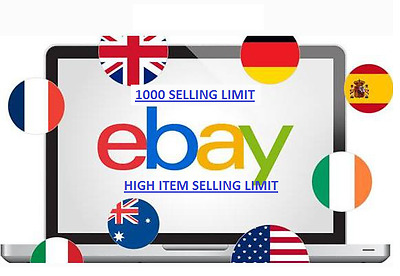NEW eBay Business for Sale, 100 Items Selling Limit