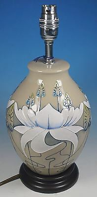 MOORCROFT Stunning Serenity Water Lilies Large Table Lamp (Shape L3/8) RRP £295