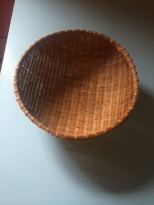 Vintage Wicker Basket - French Or African
