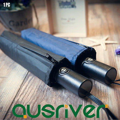 High Quality 10 Ribs Automatic Folding Strong Windproof Anti-UV Compact Umbrella