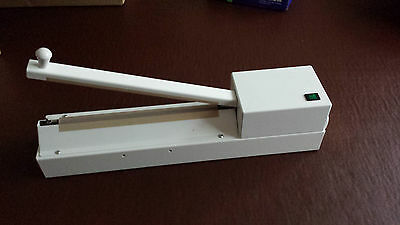 Snappy Crocodile bag heat sealer 250mm old but unused and boxed impulse