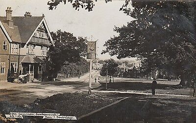 The Common, Southborough near Tonbridge, Real photo, old postcard, posted 1907