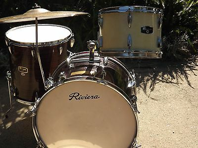 Vintage  Made In Japan Drum Kit  - Good Condition