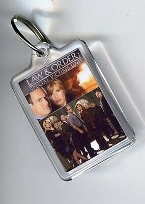 Law And Order.. Svu Keyring / Keychain