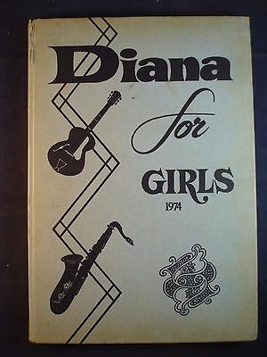 Diana Annual 1974 Vintage Girls Hardback Book